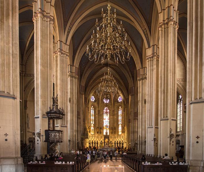 The Big Church in Zagreb, Croatia