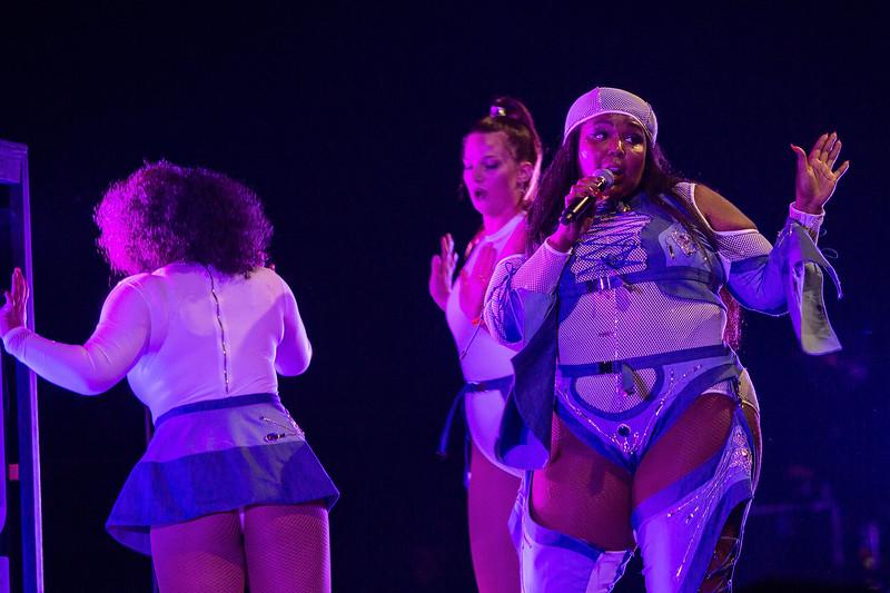 Lizzo Performs at Wamu Theater
