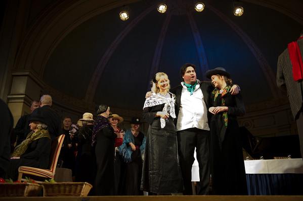 Pressebilder fra adventskonsertene i Gamle Logen