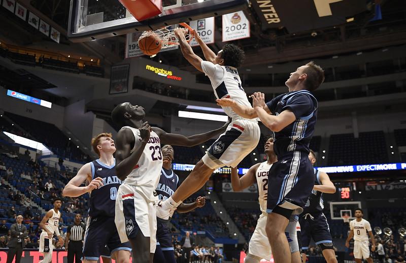 Maine UConn Basketball