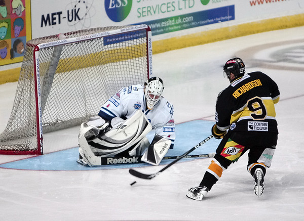 Blaze v Nottingham Panthers (Hocktoberfest) - 04/10/2009