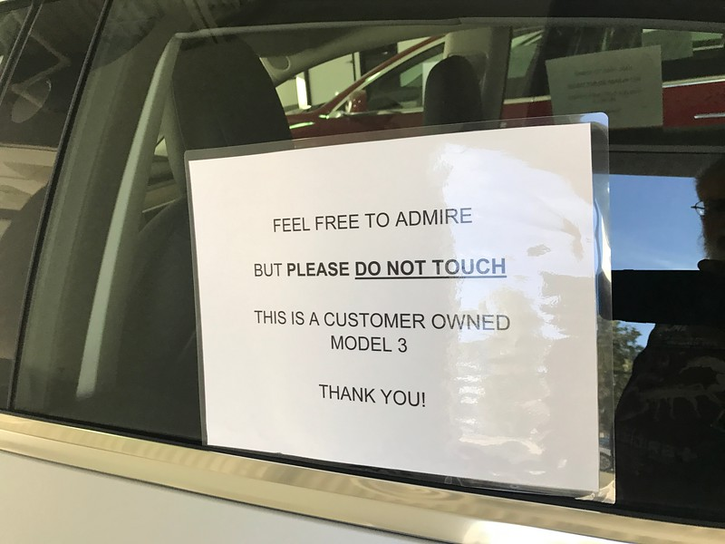 Tesla Model 3 delivery, Palm Springs