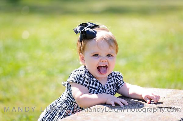 Linnley Grace 10 Months