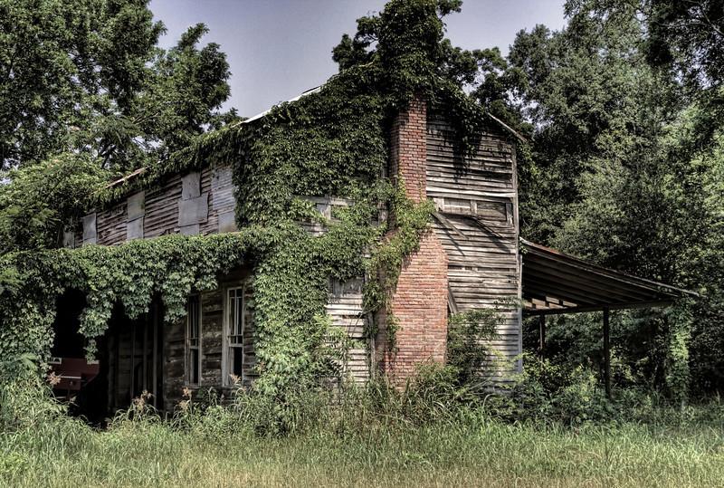 Dr. John M. Taylor House, Winchester, AR on the banks of Bayou Bartholomew (aka Hollywood Plantation) ca. 1846