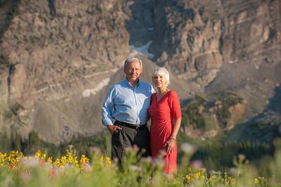 Kathy and Allan Albion Basin