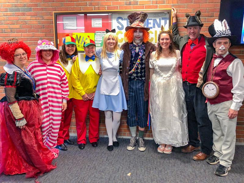 2018-2019 Alice in Wonderland
