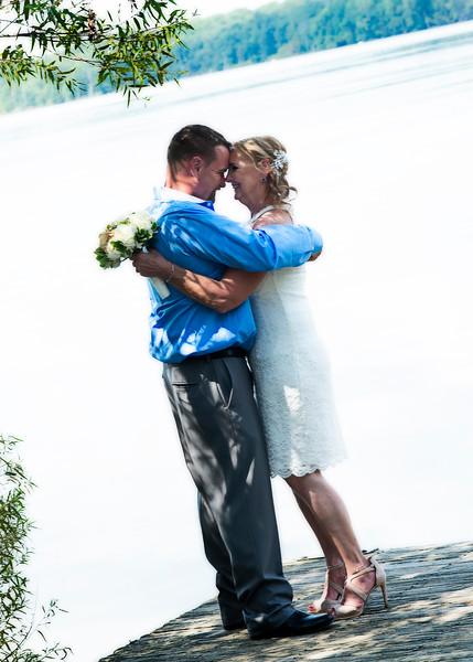 Dennis & Liz's Wedding Day