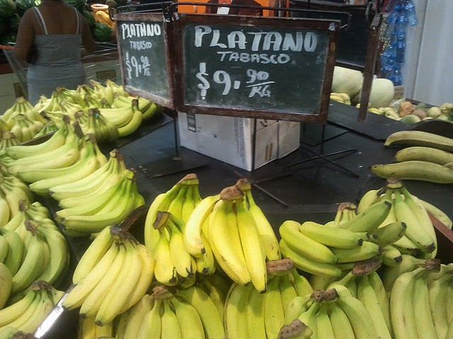 Banana prices in Mexico