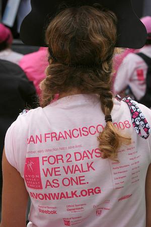 SF Avon Breast Cancer Walk