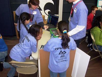 Inaugural Finger Lakes FLL Tournament Dec. 10, 2005