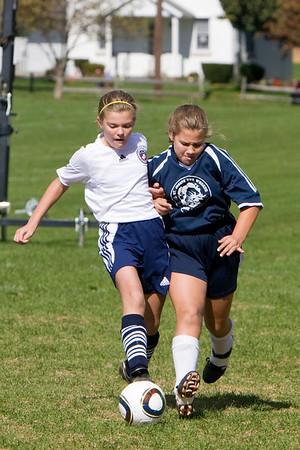 U-11 Girls Fall 2010 Game 5