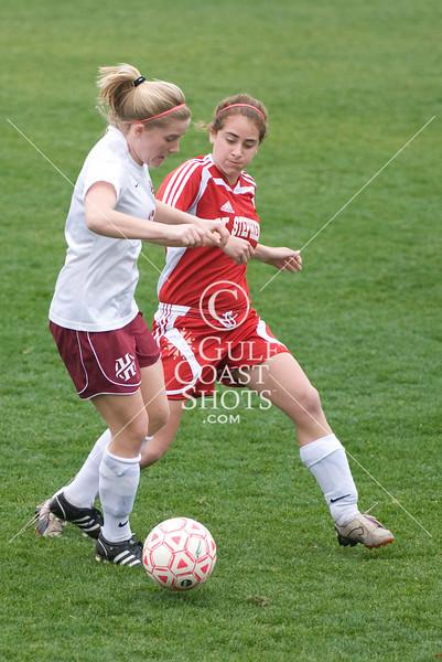 Soccer Girls Div 2 Game 2 St. Stephen's vs Holland Hall