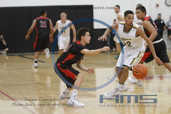 Iolani Boys Basketball - WesL 12-19-13