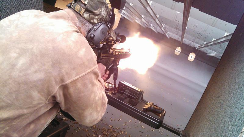 Fun at the Gun Range - Nov 2013