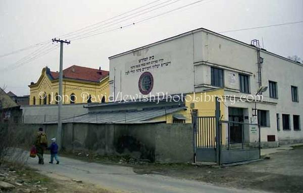 SLOVAKIA, Presov. Presov Synagogue and Museum. (1998)