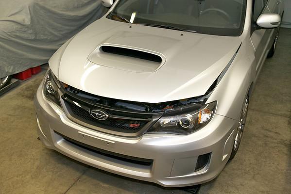 2011 Subaru STI Silver