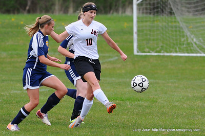 Jonesville vs Hillsdale Girls Varsity Soccer