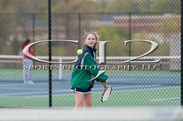 4-27-2015 Heritage at Woodgrove Girls Tennis