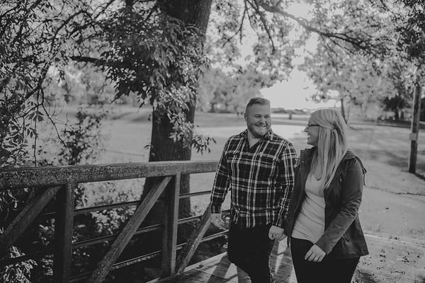 Alyssa + Dane | Waupun Engagement Session | The Rock
