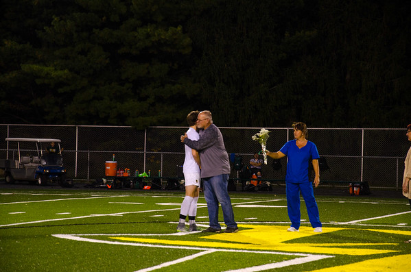 DLHS BOYS SOCCER SENIOR NIGHT