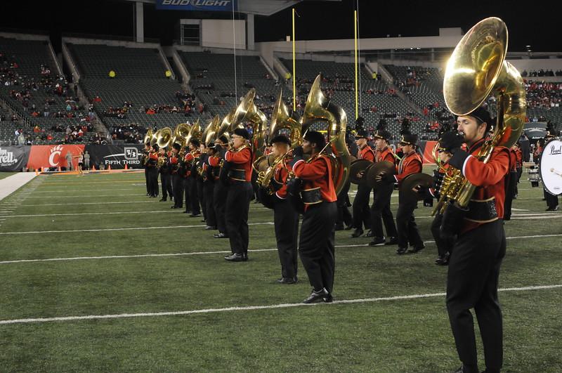 UC Band_UC vs Memphis_HS Band Day_PB Stadium_Cincinnati, OH