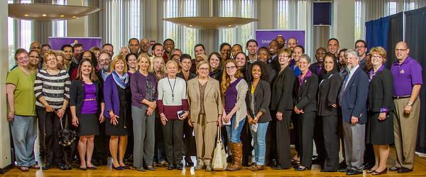 2014 Student Group Advisor Recognition Event  Portraits