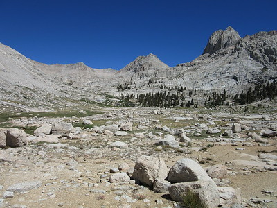 Sierra -- Miter Basin and Siberian Outpost  7-16