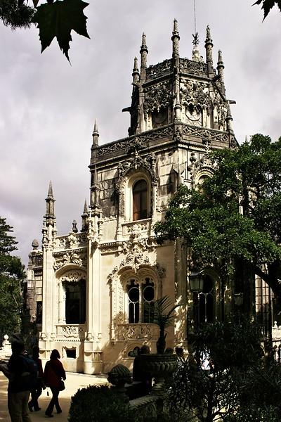 Hlavní budova Quinta de Regaleira v Sintře
