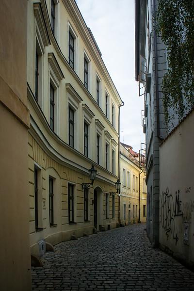Arrived in Prague around 11 AM