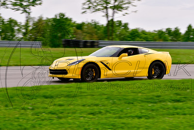 2019 SCCA May TNiA Pitt Race Yellow Vette New