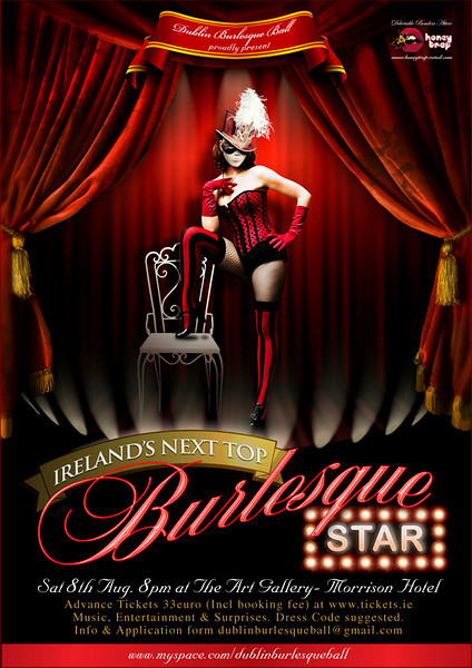 Ireland's Next Top Burlesque Star - August '09
