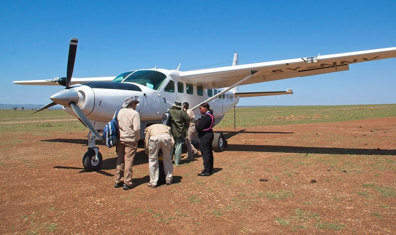 Departure from Ol Seki Naboisho