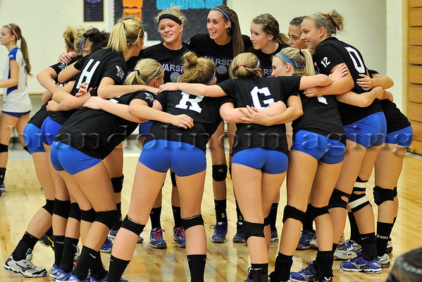 Lincoln-Way East Varsity Girls Volleyball (2010)