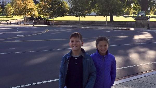 Bouceks visit Washington, DC