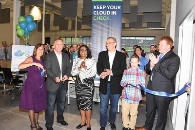 Mayor welcomes CloudCheckr to Neighborhood of the Arts. 6/5/2017
