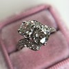 1.99ctw Vintage Old Mine Cut Bypass Ring 9