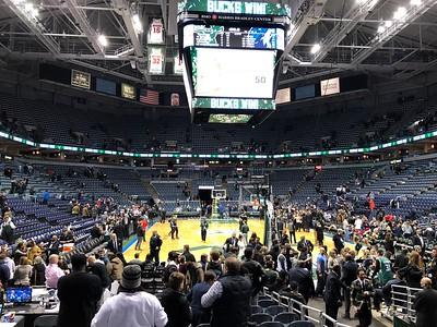 28 December 2017 Bucks & Badgers Basketball Game