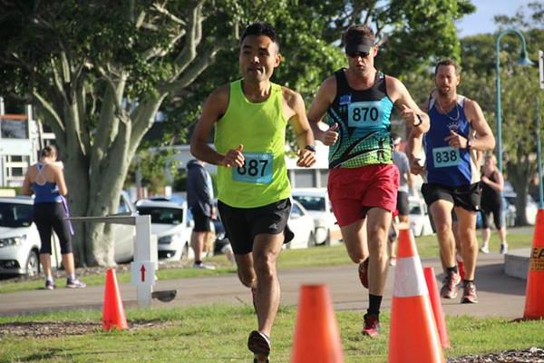 Sri Chinmoy Wynnum Seaside Run, Half-Marathon, 10km & 5km