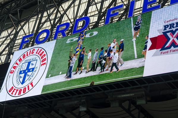 2017 Ford Field CYO Recognition 7-8 grade boys