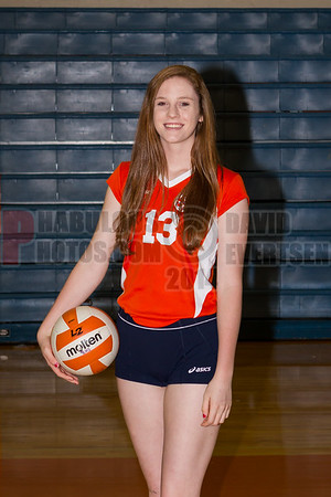 Girls Varsity Volleyball #13 - 2014