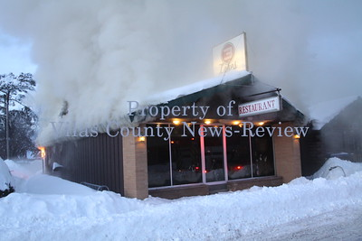 Three Lakes Diner Fire