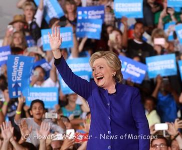 Hillary Clinton 11-2-2016