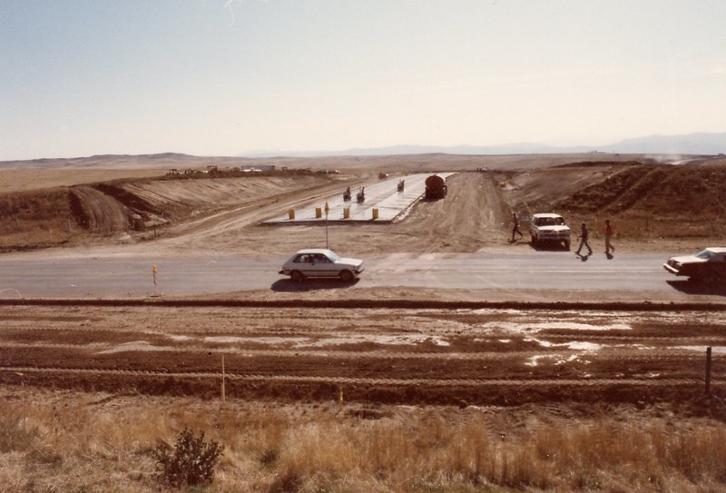Universtiy and Highlands Ranch Parkway - October 1987
