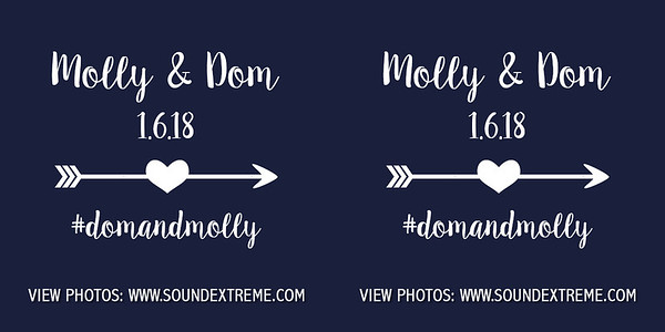 Molly & Dominic 1/6/18
