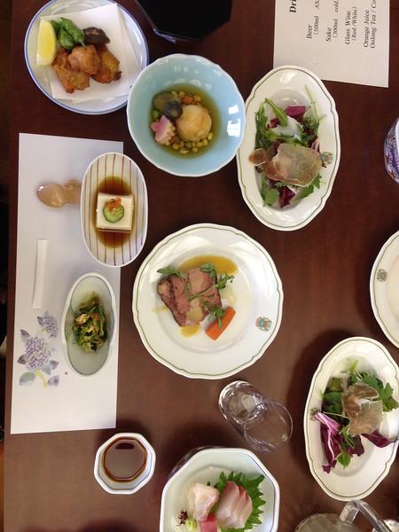 Lunch in Hagi - Leslie Rowley S95