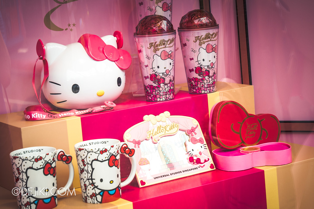 Universal Studios Singapore - Hello Kitty Studio store window