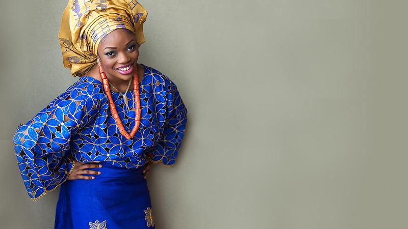 Nigerian traditional wedding attire