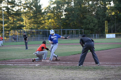 Peoples United Bank vs Vernon Orioles 08-18-20