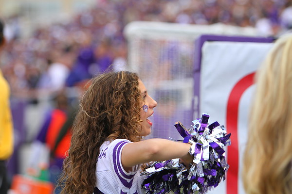 TCU Vs. UNM 11/28/2009 Football - Cheer, Crowd and School Spirit