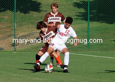 2019 Boys Soccer Landon 5 v SSSA 1